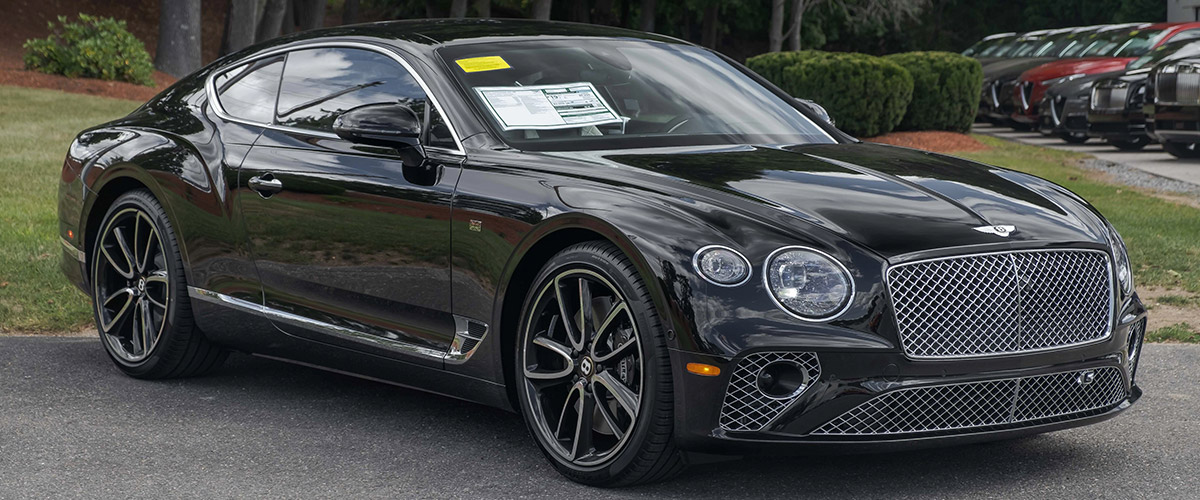 2020 Bentley Continental GT Header