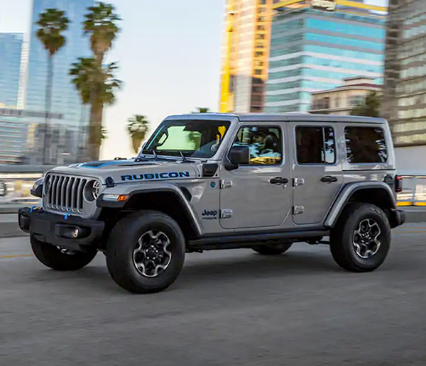 2021 Jeep Wrangler 4XE  in the city