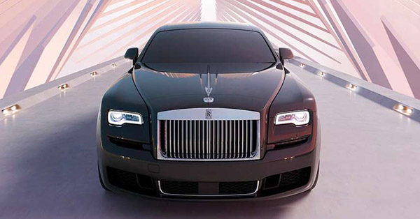 Rolls royce vehicle