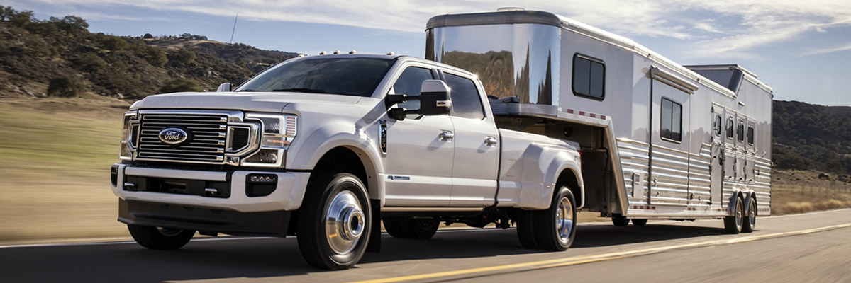 Finance a 2020 Ford Super Duty® near Worcester, MA