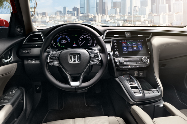 2021 Honda Insight interior dashboard