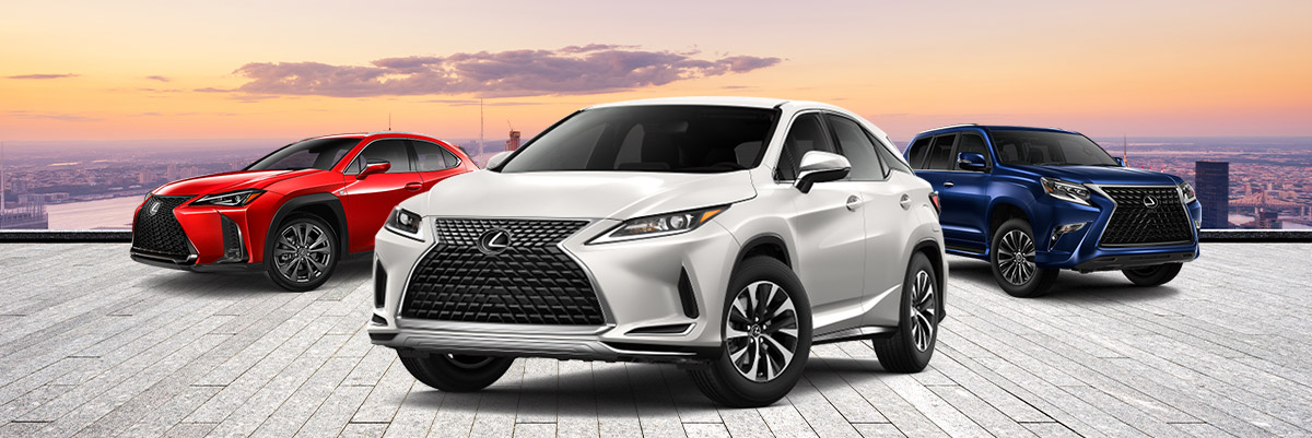 Buy or Lease a New Lexus SUV near Walpole, MA