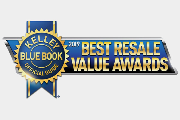 Edmunds.com's Best Retained Value® Awards logo